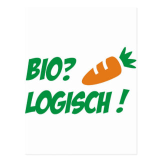 Biologisch Postcard