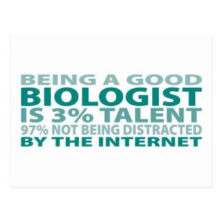 Biologist 3% Talent Post Card