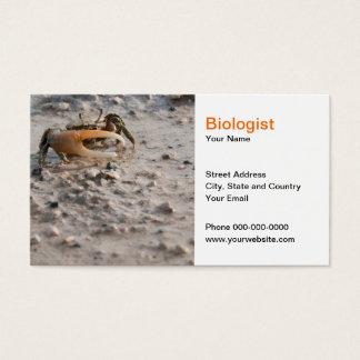 Biologist Business Card