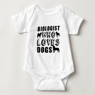 biologist Who Loves Dogs Tee Shirt