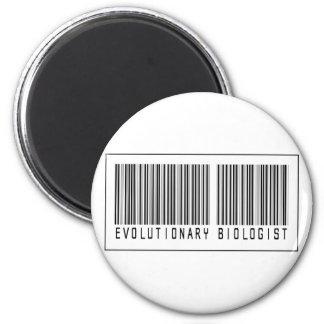 Biólogo evolutivo del código de barras imán de frigorifico