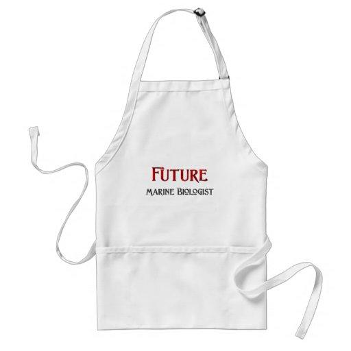 Biólogo marino futuro delantal