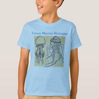Biólogo marino futuro playera