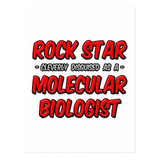 Biólogo molecular de la estrella del rock… postal