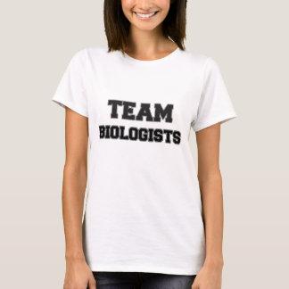 Biólogos del equipo playera
