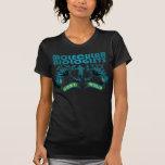 Biólogos moleculares idos salvajes camisetas