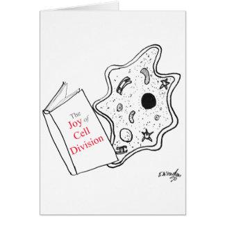 Biology Cartoon 9416 Card