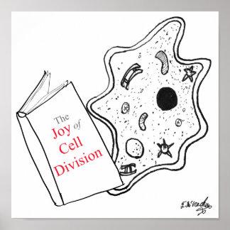 Biology Cartoon 9416 Poster