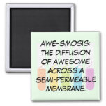 Biology & Chemistry Teachers: Science is Awesome 2 Inch Square Magnet