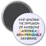 Biology & Chemistry Teachers: Science is Awesome 3 Inch Round Magnet