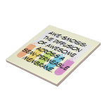 Biology & Chemistry Teachers: Science is Awesome Ceramic Tile