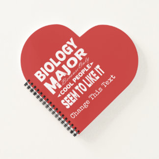 Biology College Major Only Cool People Like It Notebook