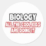 Biology...Cool Kids Sticker