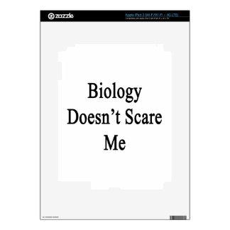 Biology Doesn't Scare Me iPad 3 Skin