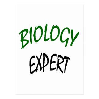 Biology Expert Postcard
