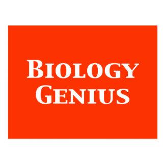 Biology Genius Gifts Postcard