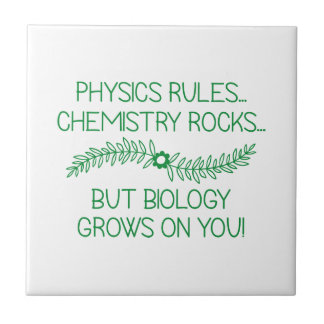Biology Grows On You Tile