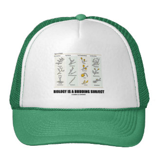 Biology Is A Budding Subject (Types Of Buds) Hats