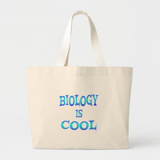 Biology is Cool Canvas Bag