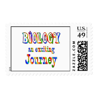 BIOLOGY is Exciting Postage Stamps