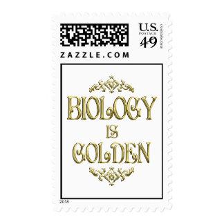 BIOLOGY is Golden Stamp