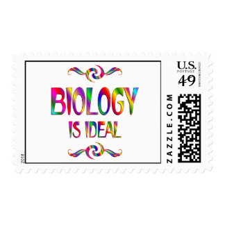 Biology is Ideal Stamp
