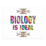 Biology is Ideal Postcard