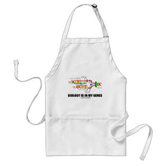 Biology Is In My Genes (DNA Replication) Adult Apron