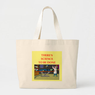 biology large tote bag