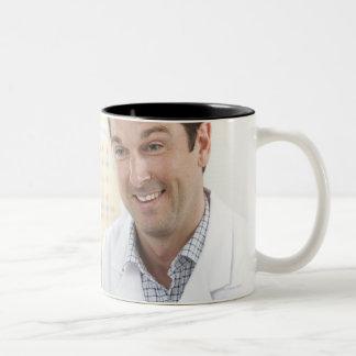 Biology lesson. Two-Tone coffee mug
