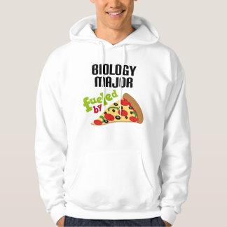 Biology Major Gift (Pizza) Hoodie