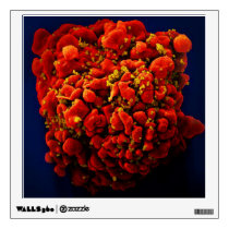 biology microbiology abstract Aids Awareness HIV Wall Sticker