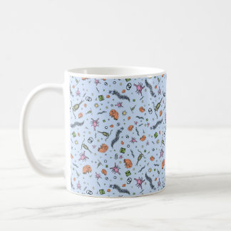 Biology Mug, Blue Coffee Mug