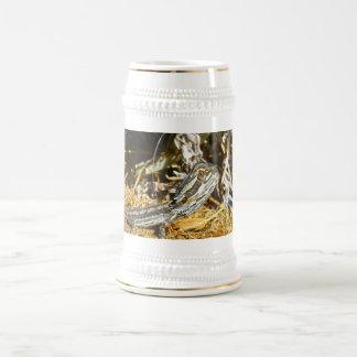 Biology_Of_Baby_Bearded_Dragon_Beer_Stein_Mug Beer Stein