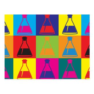 Biology Pop Art Post Cards