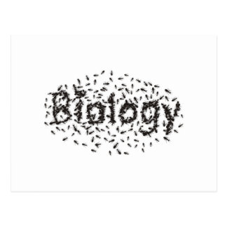 Biology Postcard