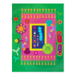 Biology postcard - Matisse style