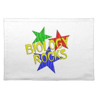 Biology Rocks Cloth Placemat