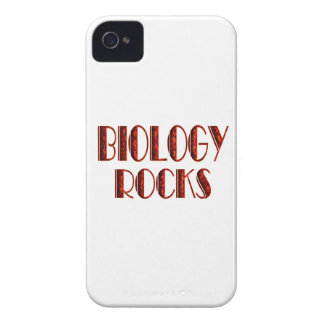 Biology Rocks iPhone 4 Cases