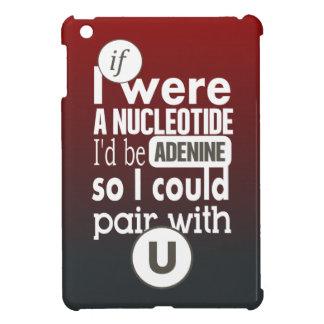 Biology slogan if nucleotide adenine uracil iPad mini cases