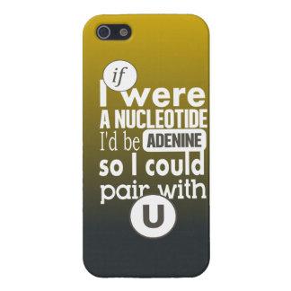 Biology slogan nucleotide adenine uracil iPhone SE/5/5s cover