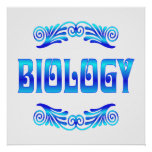 BIOLOGY - Starting at $11.80 Posters
