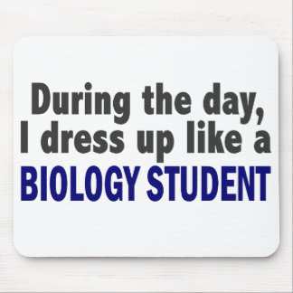 Biology Student During The Day Mouse Pad