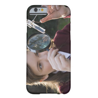 Biology student studying plant barely there iPhone 6 case