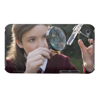 Biology student studying plant Case-Mate iPod touch case