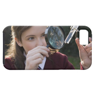 Biology student studying plant iPhone SE/5/5s case