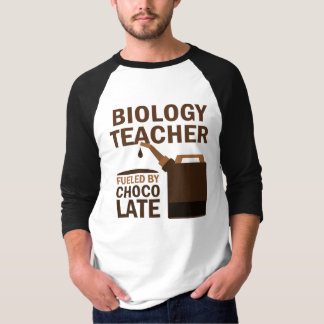 Biology Teacher (Funny) Chocolate T-Shirt