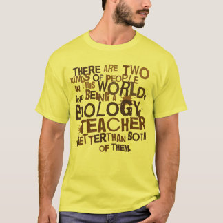 Biology Teacher Gift T-Shirt