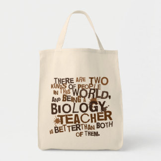 Biology Teacher Gift Tote Bag