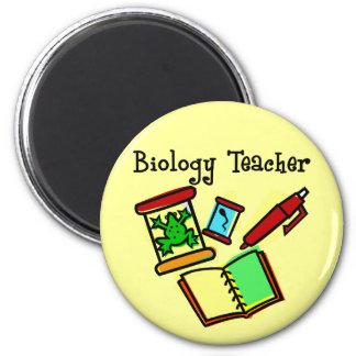 Biology Teacher Gifts 2 Inch Round Magnet
